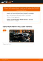 Byta luftmassemätare på Audi A4 B5 sedan – utbytesguide