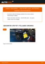 MANN-FILTER WK 853/3 x för A4 Sedan (8D2, B5) | PDF instruktioner för utbyte