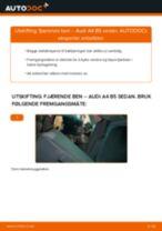 Bytte Baklyspære AUDI gjør-det-selv - manualer pdf på nett