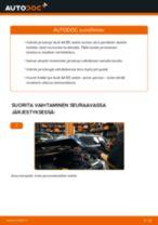 Kuinka vaihtaa jarrulevyt eteen Audi A4 B5 sedan-autoon – vaihto-ohje