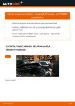 NGK 92204 varten A4 Sedan (8D2, B5) | PDF vaihto-ohje