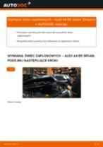 Jak wymienić świece zapłonowe w Audi A4 B5 sedan - poradnik naprawy