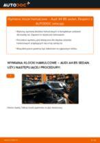 Jak wymienić klocki hamulcowe przód w Audi A4 B5 sedan - poradnik naprawy
