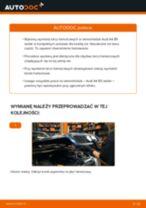 Jak wymienić tarcze hamulcowe przód w Audi A4 B5 sedan - poradnik naprawy