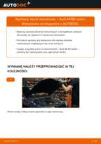 Jak wymienić klocki hamulcowe tył w Audi A4 B5 sedan - poradnik naprawy