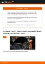 Jak wymienić tarcze hamulcowe tył w Audi A4 B5 sedan - poradnik naprawy