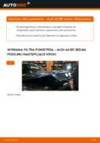 Instrukcja samodzielnej wymiany Filtr powietrza w AUDI A4