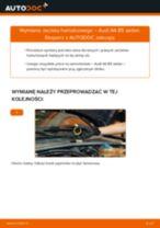 Jak wymienić zacisku hamulcowego tył w Audi A4 B5 sedan - poradnik naprawy