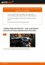 Jak vyměnit a regulovat Brzdovy valecek AUDI A4: průvodce pdf