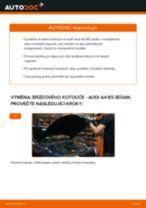 Jak vyměnit zadní a přední Kotouče AUDI A4 (8D2, B5) - manuály online