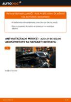 PDF εγχειρίδιο αντικατάστασης: Μπουζί AUDI A4 Sedan (8D2, B5)