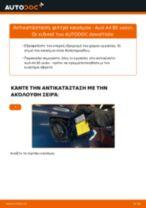 Πώς να αλλάξετε φιλτρο καυσιμου σε Audi A4 B5 sedan - Οδηγίες αντικατάστασης