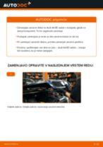 Kako zamenjati avtodel zavorni diski spredaj na avtu Audi A4 B5 sedan – vodnik menjave