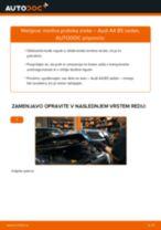 Kako zamenjati avtodel merilec pretoka zraka na avtu Audi A4 B5 sedan – vodnik menjave