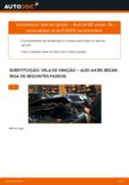 Como mudar vela de ignição em Audi A4 B5 sedan - guia de substituição