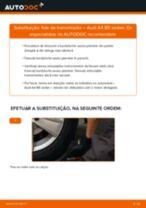 Como mudar fole de transmissão em Audi A4 B5 sedan - guia de substituição