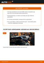 AUDI A4 (8D2, B5) Piduriketas vahetus - nõuanded ja nipid