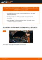 Siit saate teada, kuidas AUDI eesmine ja tagumine Piduriklotsid hädasid lahendada