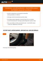 Kuidas vahetada Audi A4 B5 sedaan veovõlli porikummi – õpetus