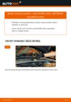 Mainīties AUDI A4 (8D2, B5) Bremžu suports - soli-pa-solim pamācības PDF