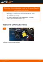 Cum să schimbați: filtru combustibil la Audi A4 B5 sedan | Ghid de înlocuire