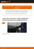 Wann Luftfiltereinsatz tauschen: PDF Anweisung für DODGE CALIBER