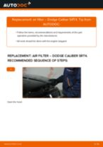 Fitting Struts and shocks DODGE CALIBER - step-by-step tutorial