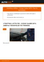 Veiledning på nettet for å skifte Tennplugger i Ford S Max mk2 selv