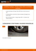 Bytte Bremsetrommel bak og foran JEEP gjør-det-selv - manualer pdf på nett
