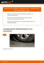 Samodzielna wymiana Amortyzatory tylne i przednie DODGE - online instrukcje pdf