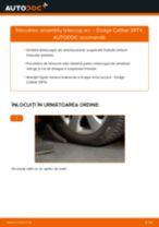 Instrucțiunile online gratuite cum să reparatii Set amortizoare DODGE CALIBER