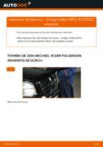 Montage Zubehörsatz, Scheibenbremsbelag DODGE CALIBER - Schritt für Schritt Anleitung