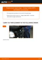 Peugeot 308 CC change Brake Caliper Bracket front left right: guide pdf