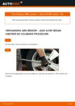 AUDI A4 ABS Sensor vervangen: online instructies