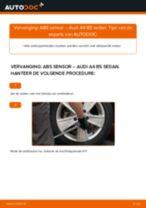 Ontvang onze informatieve handleiding voor het oplossen van het AUDI ABS Sensor probleem