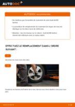 Changement Roulement De Roues arrière et avant AUDI A4 (8D2, B5) : guide pdf