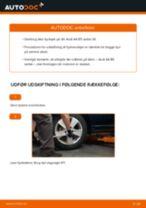 Udskift hjullejer bag - Audi A4 B5 sedan   Brugeranvisning