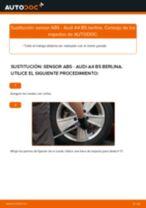 Reemplazo Sensor de velocidad de rueda instrucción pdf para AUDI A4
