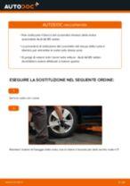 Come cambiare cuscinetto ruota della parte posteriore su Audi A4 B5 sedan - Guida alla sostituzione