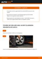 Wie Audi A4 B5 Limousine Radlager hinten wechseln - Schritt für Schritt Anleitung