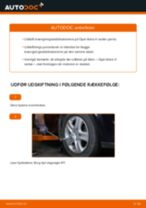 Udskift stabilisatorstang for - Opel Astra H sedan | Brugeranvisning