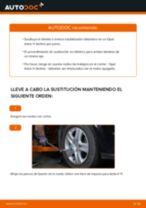 Cómo cambiar y ajustar Bieleta de barra estabilizadora OPEL ASTRA: tutorial pdf
