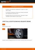 Come cambiare biellette barra stabilizzatrice della parte anteriore su Opel Astra H sedan - Guida alla sostituzione