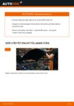 Hur byter man och justera Hjullagersats AUDI A4: pdf instruktioner