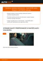 Jak wymienić sprężyny zawieszenia tył w Audi A4 B5 sedan - poradnik naprawy