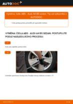 Podrobné PDF tutoriály, jak vyměnit Regulace dynamiky jizdy na autě AUDI A4 (8D2, B5)