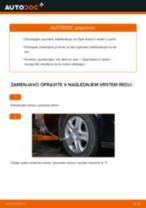 Kako zamenjati avtodel končnik stabilizatorja spredaj na avtu Opel Astra H sedan – vodnik menjave