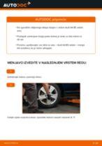 Kako zamenjati avtodel kolesni ležaji zadaj na avtu Audi A4 B5 sedan – vodnik menjave
