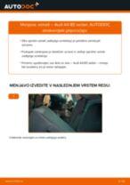 Kako zamenjati avtodel vzmeti zadaj na avtu Audi A4 B5 sedan – vodnik menjave