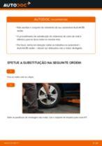 Como mudar rolamento da roda da parte traseira em Audi A4 B5 sedan - guia de substituição